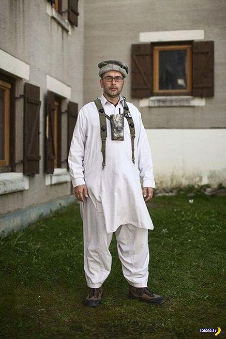 Немцы играют в Афганистан