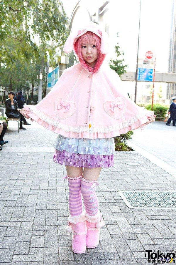 Уличная мода в Токио
