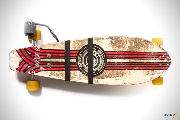 Еще один скейт с моторчиком