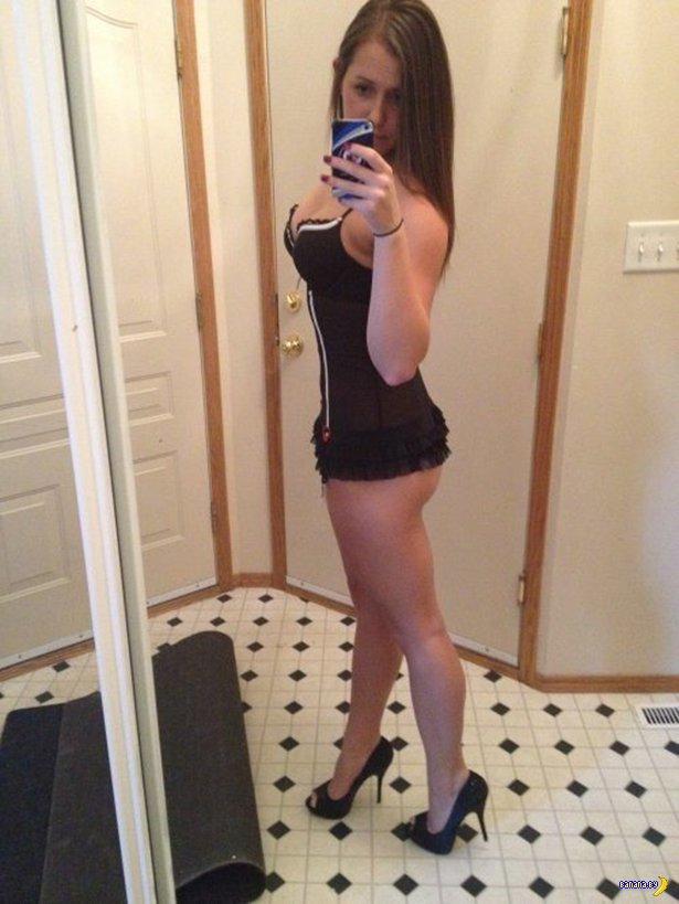 Красивые девушки в нижнем белье - 18