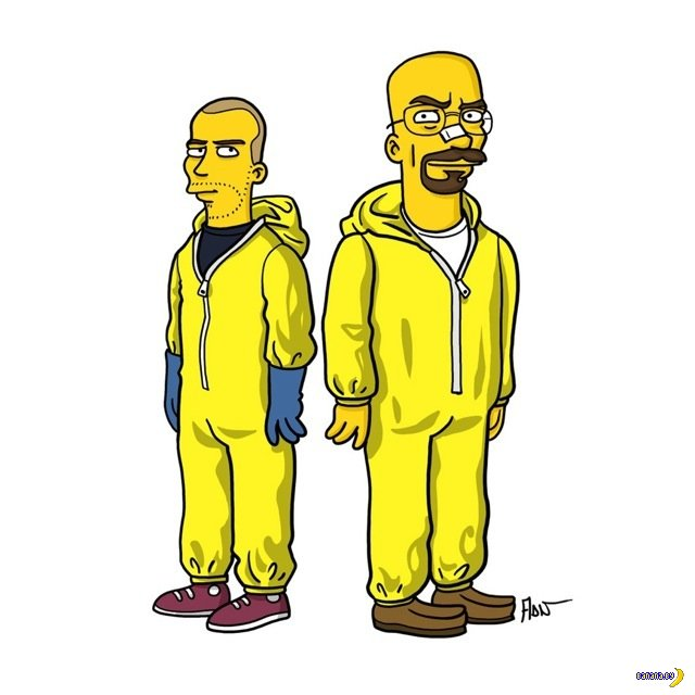 Симпсоны и Breaking Bad