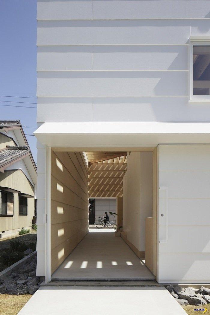 Японский дом-ящик