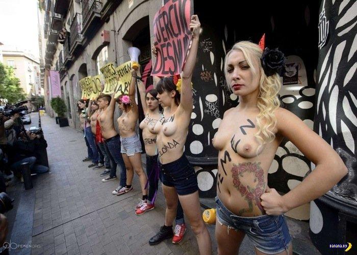 FEMEN, теперь и в Испании