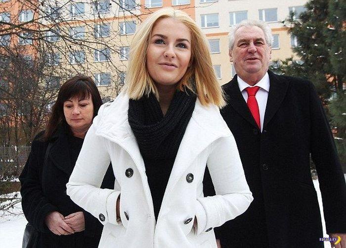 Секс-скандал с дочкой президента Чехии