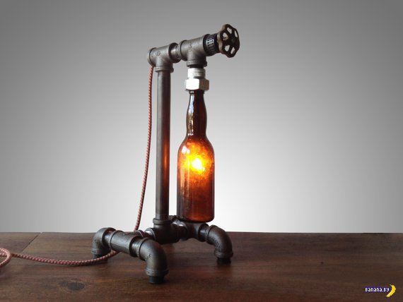 Лампа с пивом
