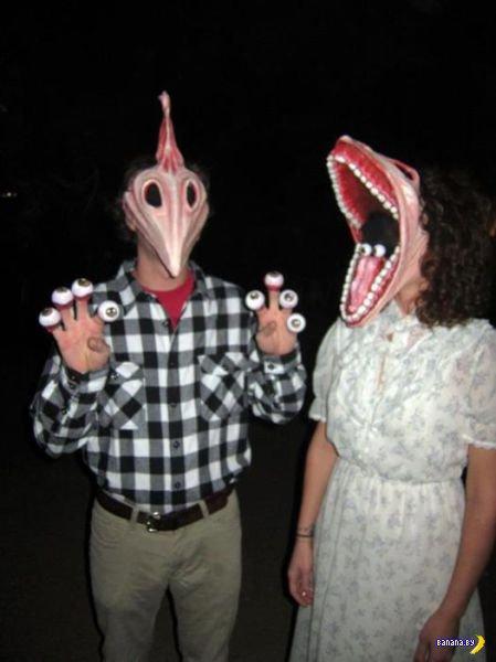 Самодельные костюмы на Хеллоуин