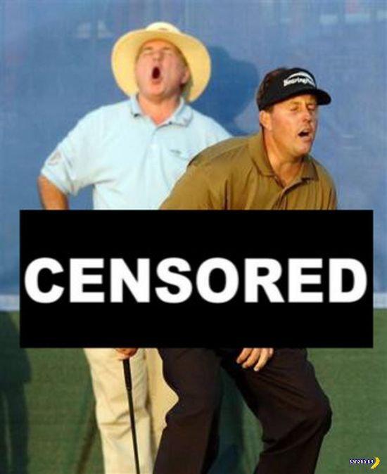 Лишняя цензура в спортивных фото