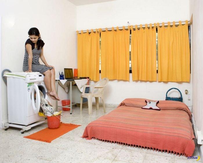 Девичьи комнаты в разных странах