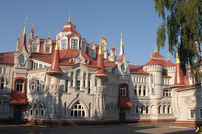 Замок-школа для жены