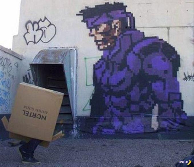 Графитти по играм
