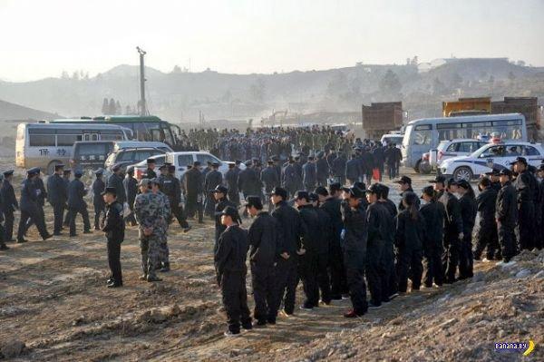 Спецназ школоло в Китае