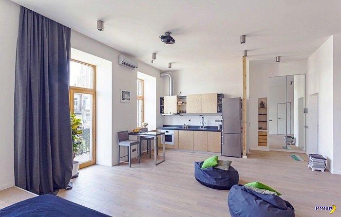Смелая квартира в Киеве