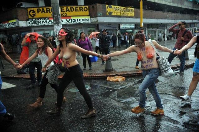 По следам FEMEN