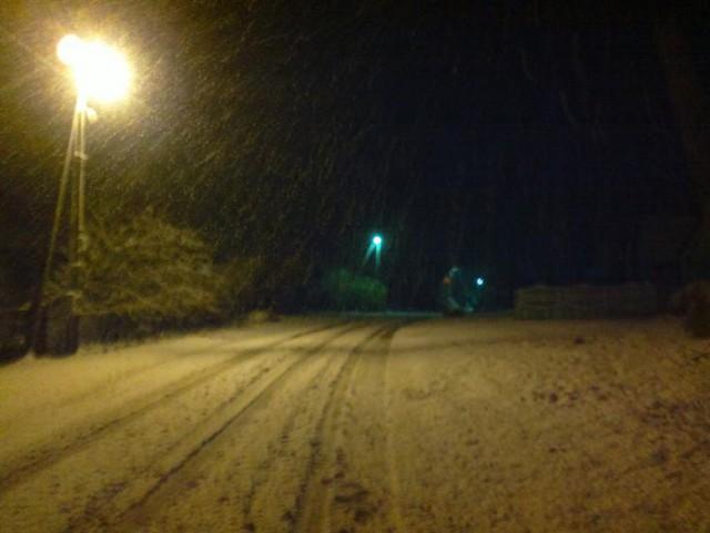 Началось! Первый снег в Беларуси