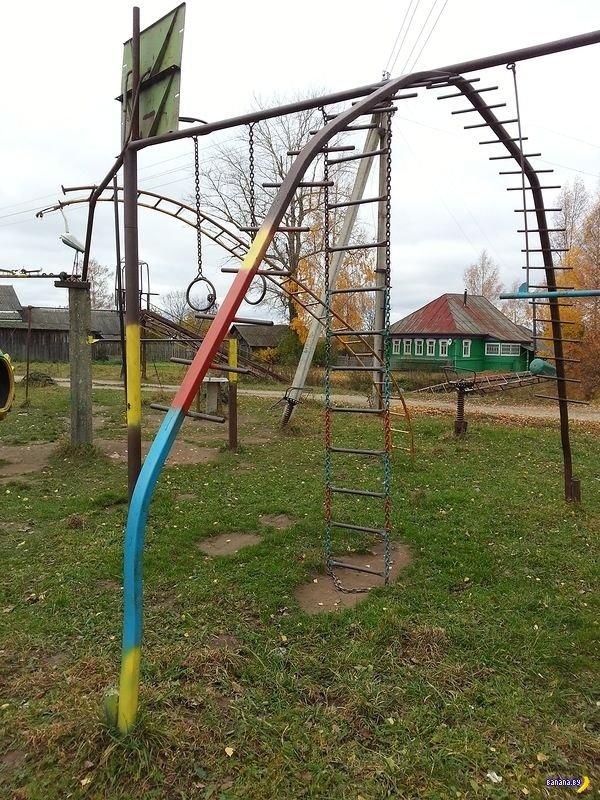 Суровая площадка для суровых детей