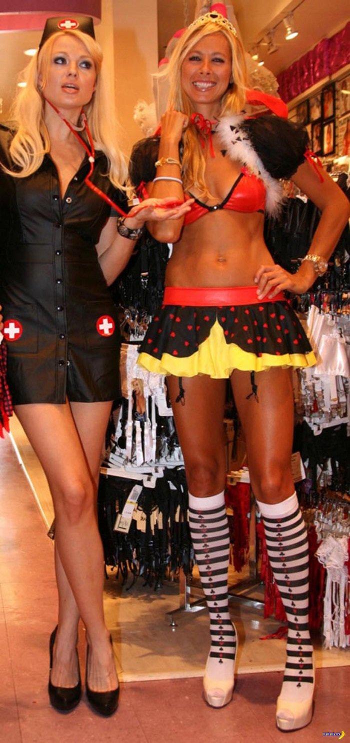 Сексуальные костюмы на Хеллоуин