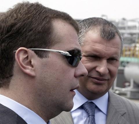 Новые очки Медведева