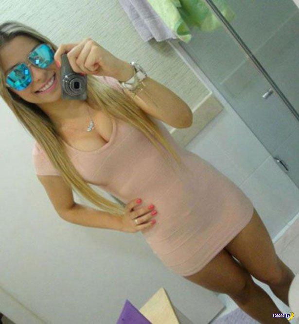 Красивые девушки в обтягивающих платьях - 6