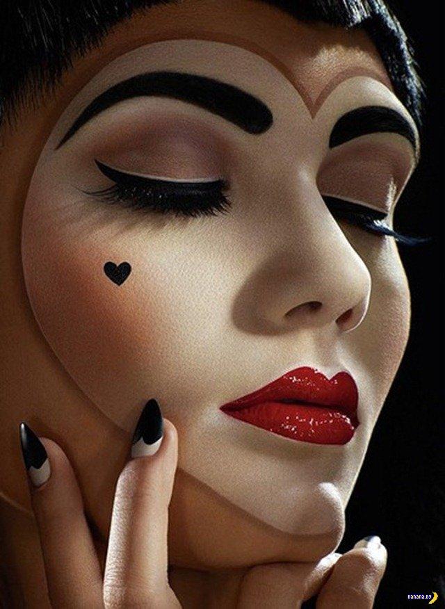 Фантастический макияж на Хеллоуин