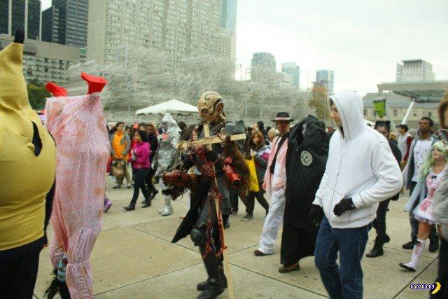 Зомби-парад в Торонто