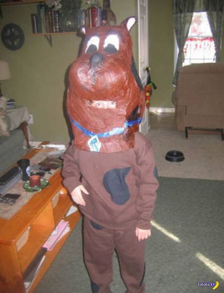 Худшие костюмы на Хеллоуин