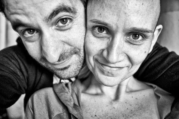 История пары в фотографиях