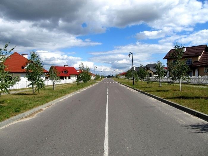 Немного о жизни в простом белорусском коттеджном поселке