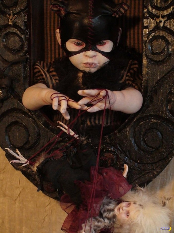 Куклы, мертвые животные и жесть