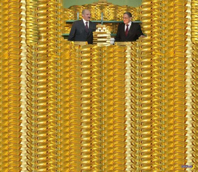 Беларусь пополнила золото-валютные резервы на 350 г золота