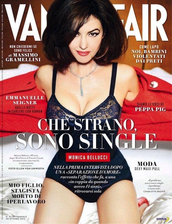 Моника Беллуччи в свежем Vanity Fair