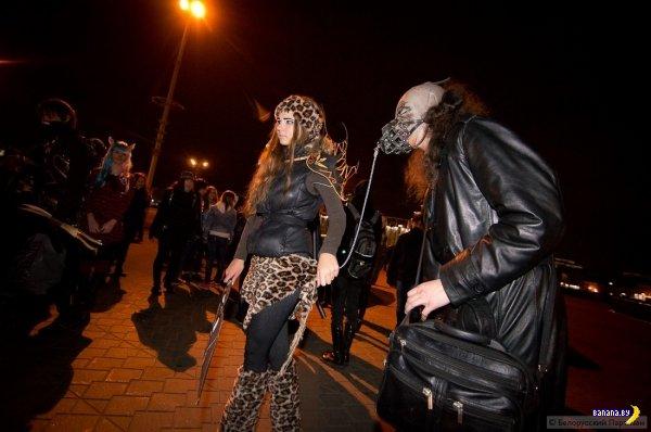 Минск оккупировали силы зла