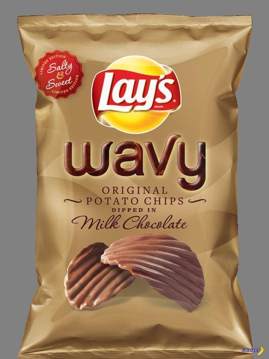 Невероятные чипсы