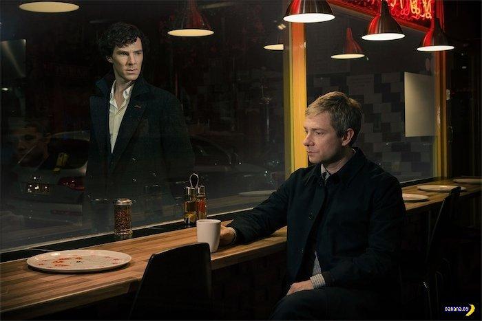 """Первое официальное фото третьего сезона """"Шерлока"""""""