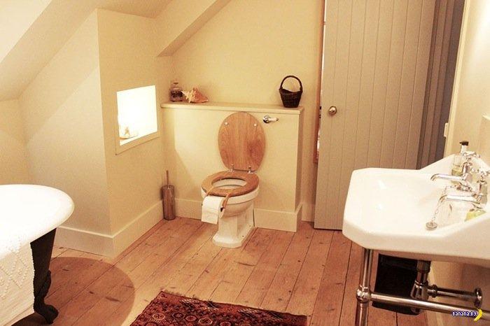 Туалетное открытие!
