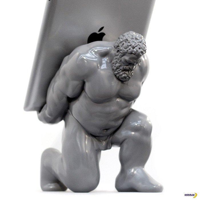 Держи планшет, Геркулес!