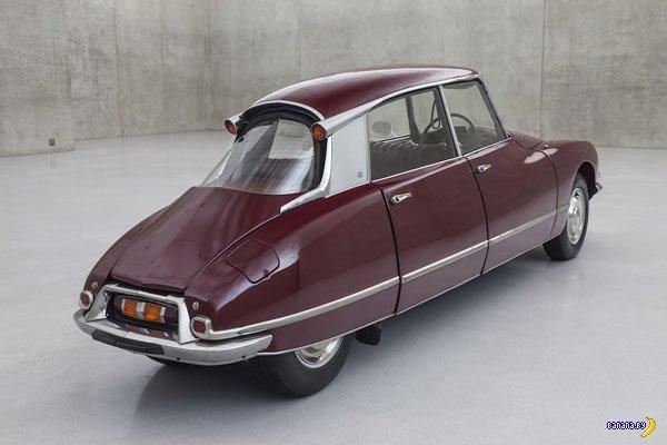 Скукожили Citroën DS