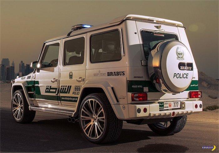 Brabus B63S 700 WIDESTAR на службе