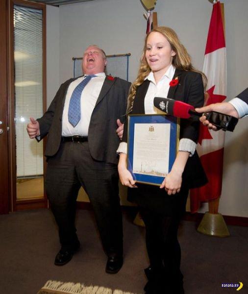 Странный мэр Торонто