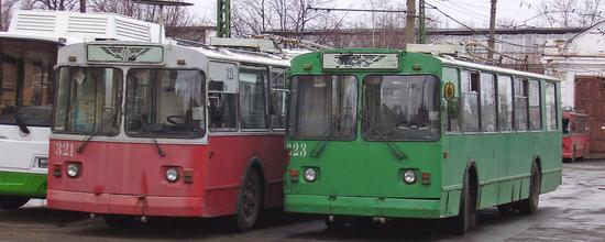Троллейбусы на выживание 2013