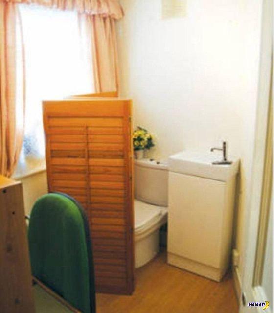 Квартира с туалетом в Лондоне