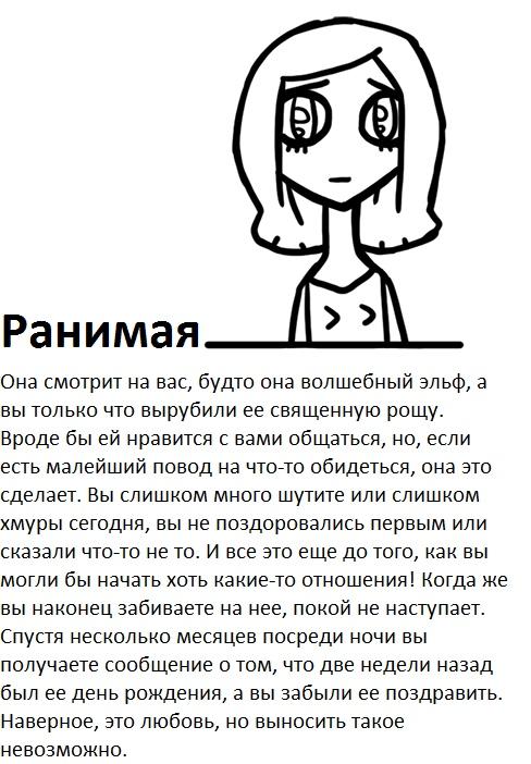Классификация девушек