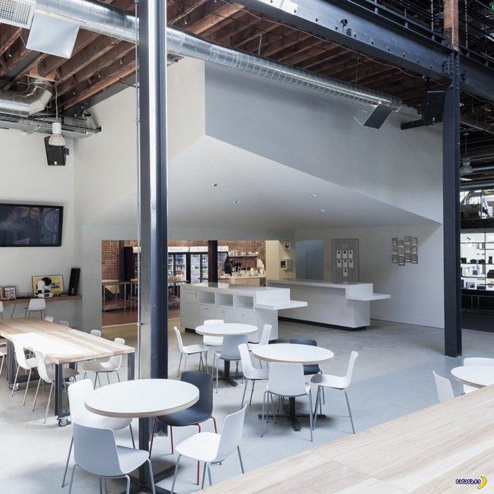 Новый офис Pinterest в Сан Франциско