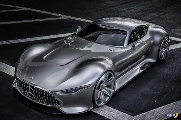 Несуществующий Mercedes AMG Vision Gran Turismo