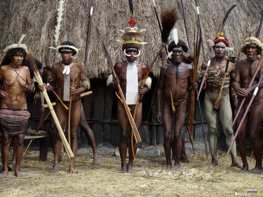Гомосексуализм среди папуасов
