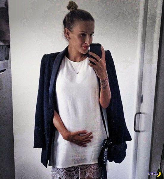 Беременная модель взбесила Интернет своей диетой