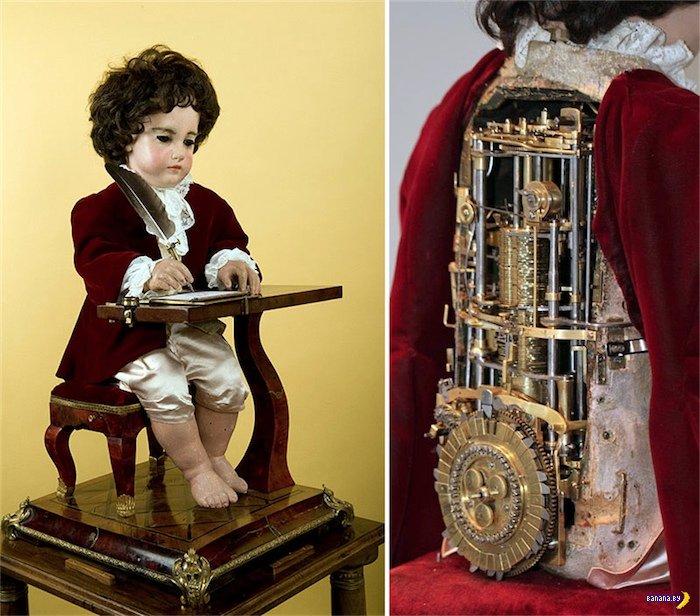 240-летний механический робот-андроид