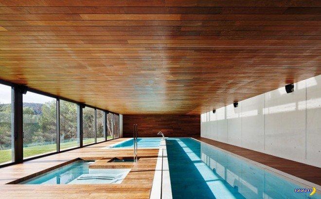 Бассейны в домах