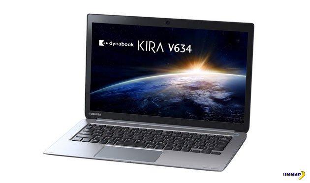 Новый ультрабук от Toshiba обещает 22 часа автономной работы