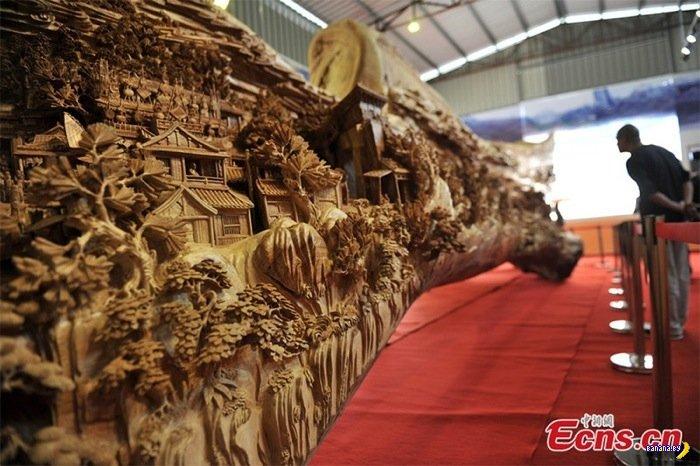 Самая большая резная скульптура в мире