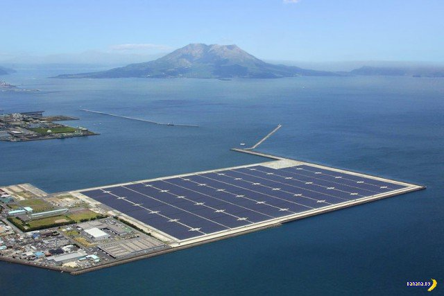 Солнечная электростанция в Стране восходящего солнца
